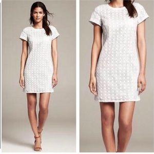 Kate Spade White Eyelet Havana Sheath Dress